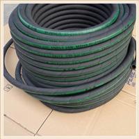耐腐蚀胶管大口径钢丝胶管 黑色光面软管风管水管