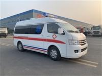 福田救护车 国六福田G7小型救护车 院后转运型 直销广州市