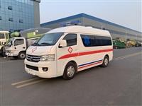 福田救护车 国六福田G7小型救护车 院后转运型 直销邯郸市