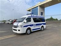福田救护车 国六福田G7小型救护车 院后转运型 直销渝北区