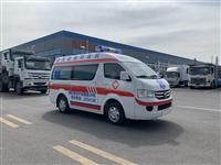 福田救护车 国六福田G7小型救护车 院后转运型 直销宣武区