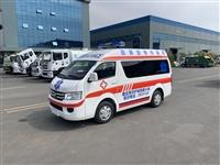 福田救护车 国六福田G7小型救护车 院后转运型 直销广安市