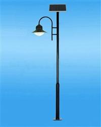 四川太阳能路灯厂家哪家好 5米20W海螺臂灯杆