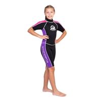 香港市兩件套潛水衣青少年沖浪衣抗紫外線萊卡衣潛水頭套