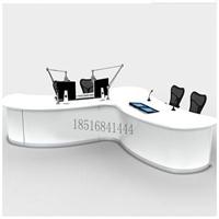 香港市轮船控制中心播音桌演播桌广播桌