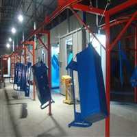 江苏汽车钢板弹簧  自动喷粉生产线 总包工程设计公司