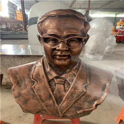 定制校园文化雕塑 玻璃钢名人雕像 佛山玻璃钢人物雕塑