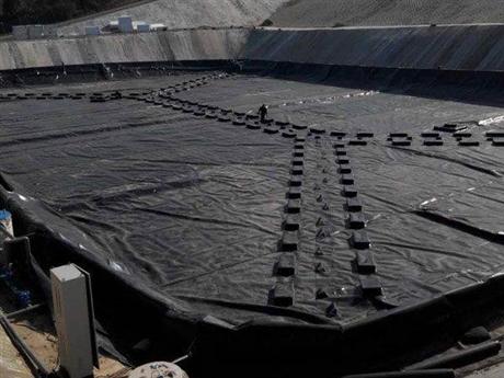 三维复合排水网施工