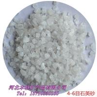 厂家直销 石英砂滤料 水处理滤料 各种规格 石英砂 1-2mm石英砂