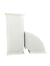 重慶風管 玻鎂消防排煙風管 鍍鋅鋼板風管 量大從優