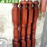 徐州漫步楼梯厂 实木楼梯立柱设计定制