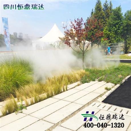 高压喷雾造景系统安装