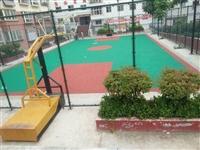 公园网球场场地施工