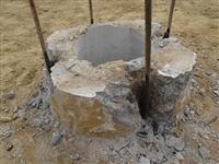 空壓機破樁頭 灌注樁破樁頭價格 1.8米的樁頭的價格能破