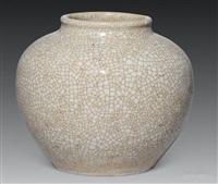 江苏省艺术品鉴定评估中心 明仿哥釉印池收购价格还会涨吗
