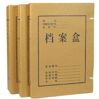 德文 档案盒规格文书档案盒 高密度白色带档案盒厂家直销