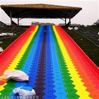 七彩滑道乐园建设需要多少钱 彩虹滑道免费规划设计
