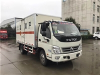 云浮市国六福田易燃液体厢式bob官方平台 东风多利卡3.5米易燃气体