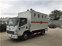 邢台市国六解放气瓶厢式bob官方平台 4.2米蓝牌危化车