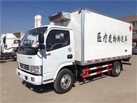 国六 东风小型医疗垃圾收集转运车 医疗废物转运车