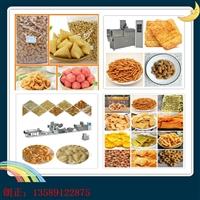 油炸空心条膨化面食 食品生产机械 朗正机械