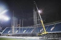 北京演唱会搭建执行,球赛物料搭建,T台,临时看台搭建