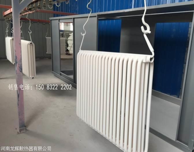 钢制联箱管耐腐蚀散热器/钢制弧管散热器/蒸汽暖气片