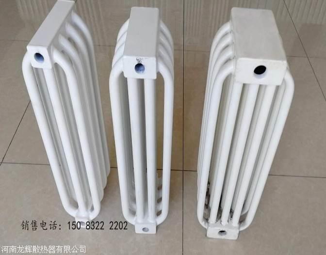 钢制弧管暖气片/钢制联箱管耐腐蚀柱型散热器/蒸汽暖气片
