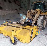供應混凝土攪拌站清掃車 砂石料場清掃車 修路水穩掃地機 泰亨牌