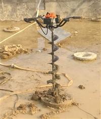 手动掏桩芯工具清孔螺旋钻机