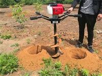 小型挖坑机植树打洞方案