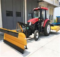 装载机改推雪铲 小型装载机配推雪铲 冬季装载机推雪铲