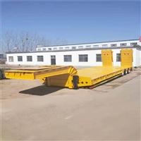 行情调查 13米工程机械运输半挂车 各地价格市场报价