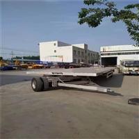 德惠市7米宽全挂平板拖车 价格免税车型