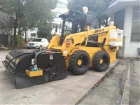 滑移装载机清扫车 煤场扫地铲车 扫地装载机价格 清扫洒水铲车厂
