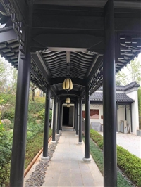中別墅鋁構件