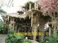 黔东南塑石假山仿真假树设计厂家