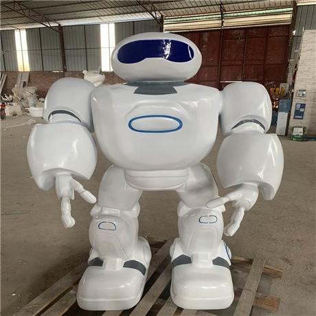 佛山玻璃钢机器人外壳雕塑 机器人外壳雕塑 玻璃钢雕塑模型