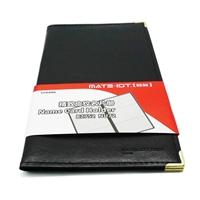 OfficeMate办公伙伴商城 欧标 B2752 软皮便携式名片册 黑色