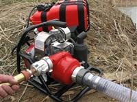 加拿大WICK250背负式森林消防泵 便携高压接力消防水泵 接力水泵