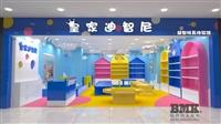 南京商场玩具店装修案例-儿童玩具展示柜设计制作-南京标杆装饰