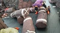 多种规格烂棉土工布 防潮布 保温棉毛毡布快递全国