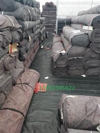 多种规格花色土工布 灰色烂棉毯 防晒棉 防寒布价低又快寄