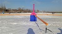 雪地轉轉,滑雪游樂設備雪上飛碟,滑雪場景區游樂設備廠家