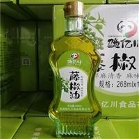 四川藤椒油哪款好 驰亿川藤椒油家用  油色清亮青花椒调味油