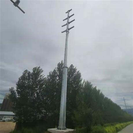 35kv双回路钢杆直线钢杆 电力钢杆塔 价格优惠