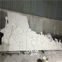 梅州玻璃钢雕塑 抗战英雄人物浮雕雕塑 玻璃钢浮雕背景墙雕塑
