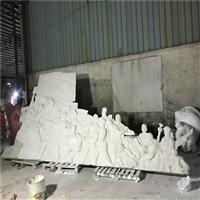 江门玻璃钢浮雕墙 革命先烈纪念碑雕塑 玻璃钢人物浮雕雕塑