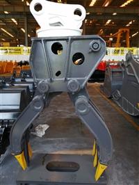 液压旋转式抓木器小松pc270 7挖掘机