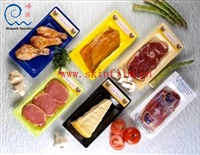 峰源专业造盒式覆机 盒装食品贴体膜覆膜机 盒装贴体机包出鲜滋味